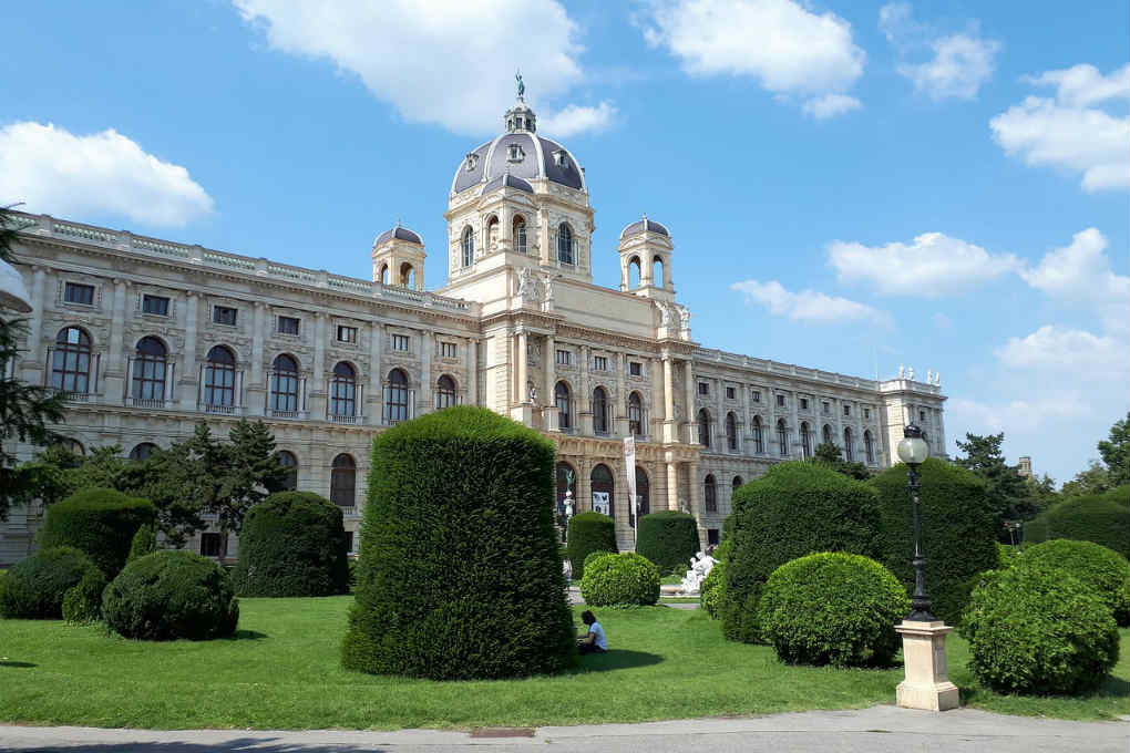 Exterior of the Vienna Natural History Museum