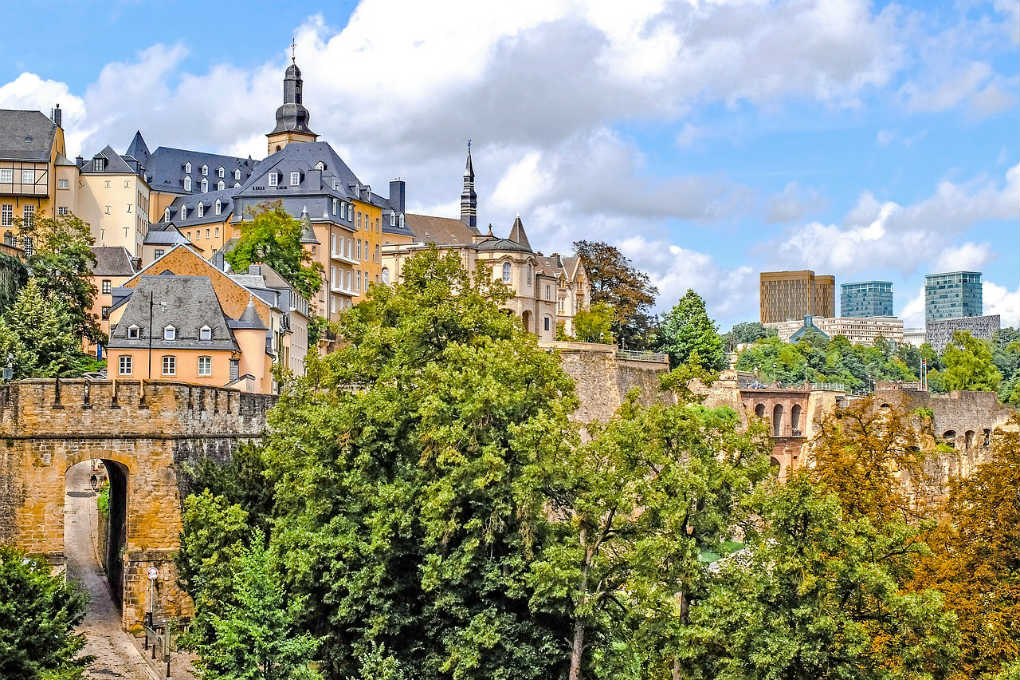 Bock and the City Casemates Luxembourg