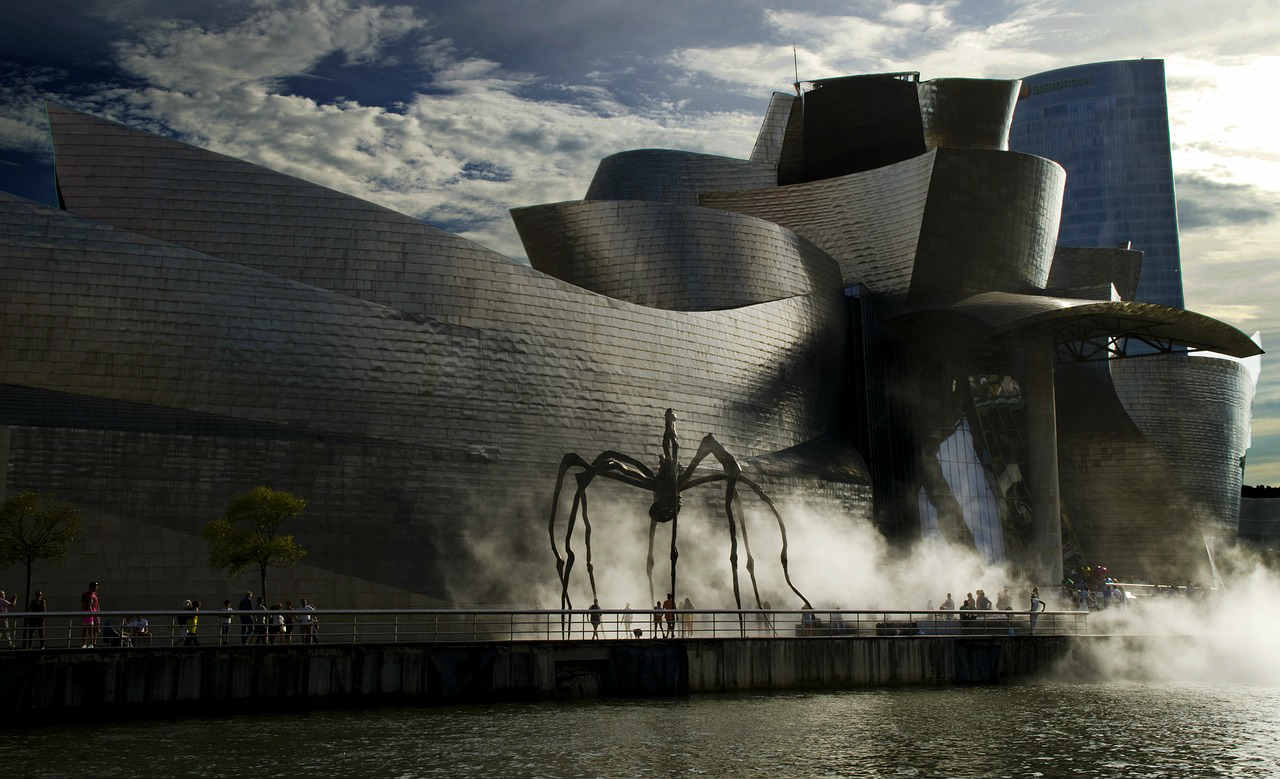 The Maman Spider At The Guggenheim Museum Bilbao