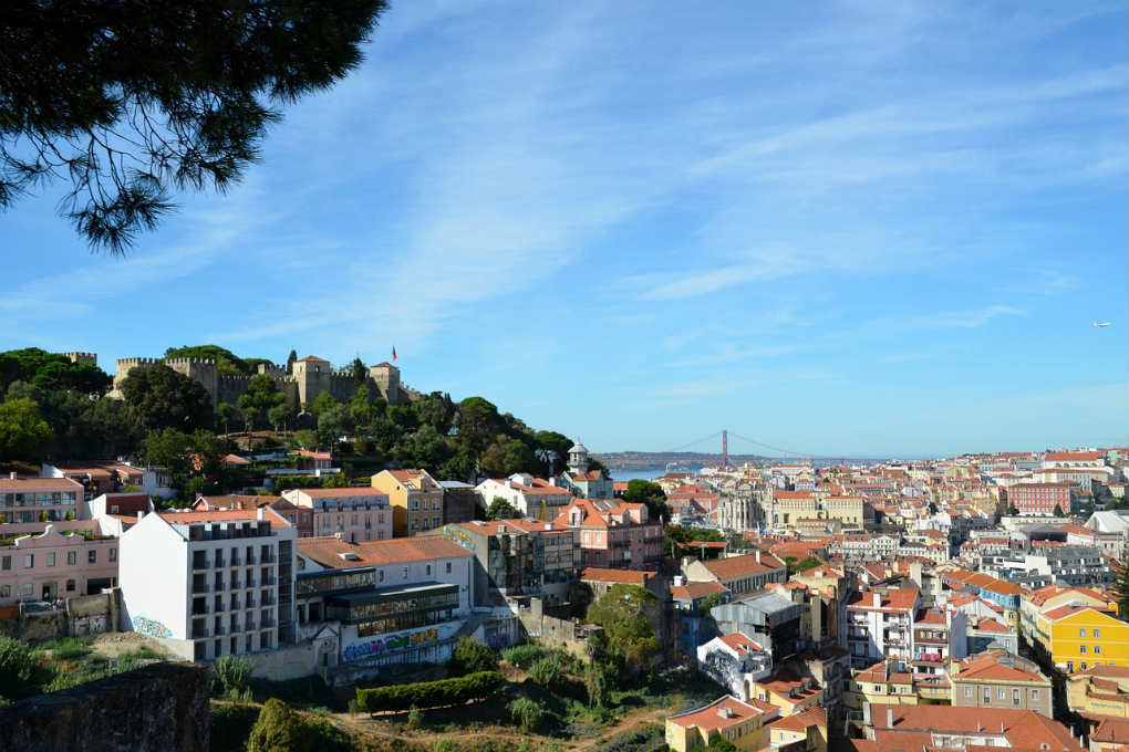 View over the city of Lisbon