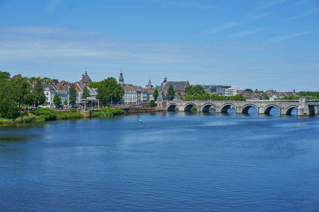 The River Maas in Maastricht
