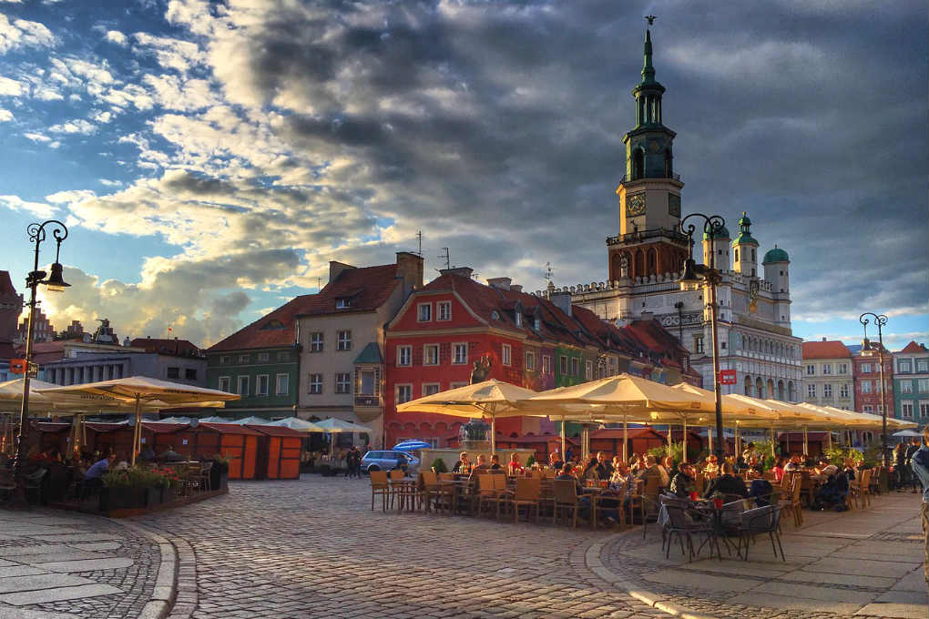 Cafes in Poznan