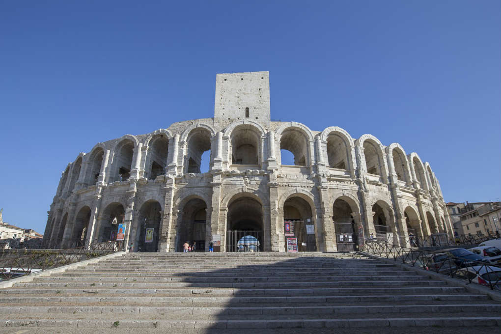 Arles Amphitheatre in France