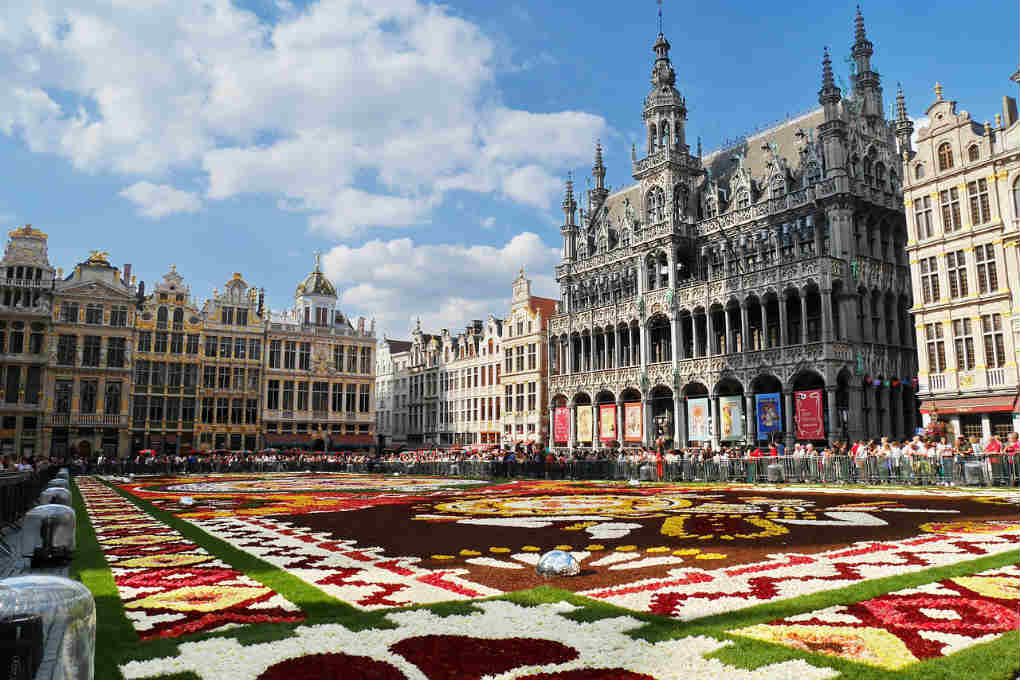 Best European cities to visit map