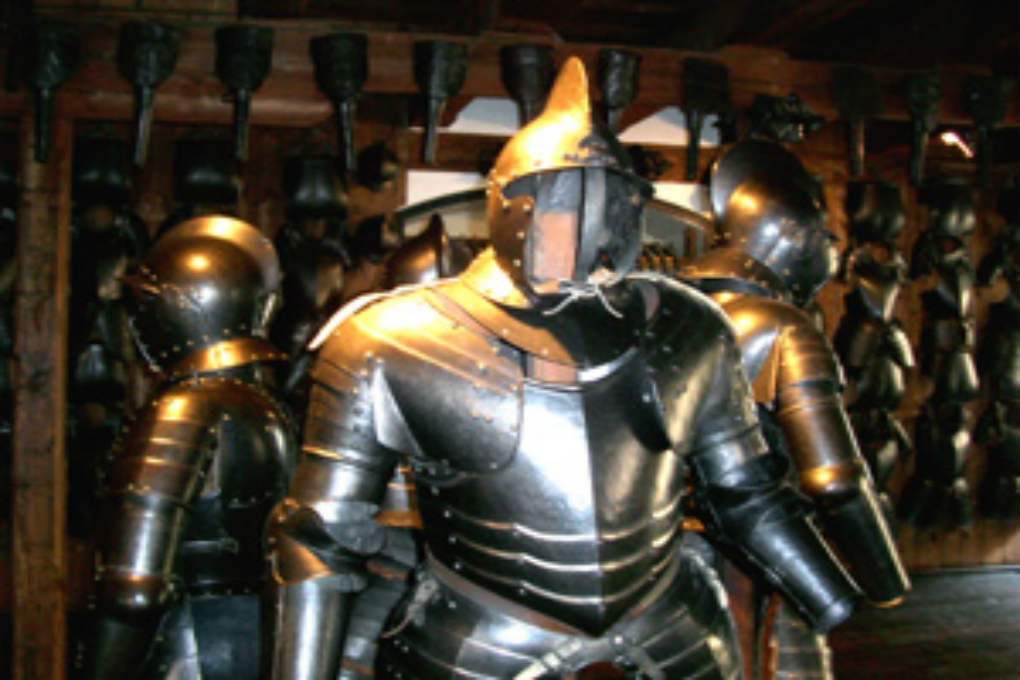 Suit of armour in the The Styrian Armoury