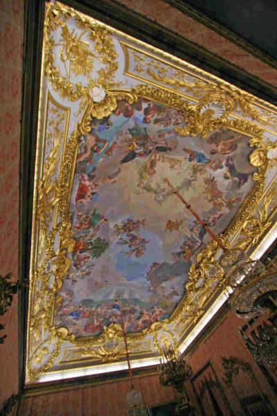 Painted ceiling of Palacio Real