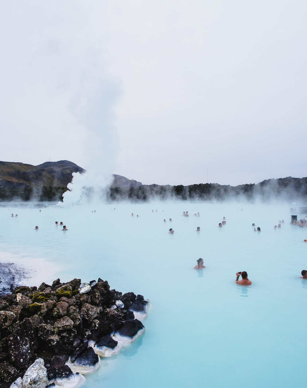 Steam from Blue Lagoon