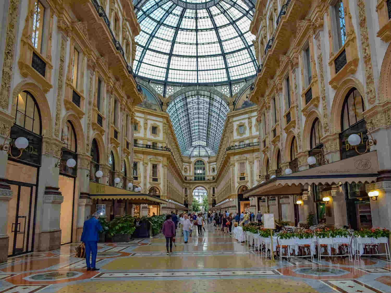 Galleria Vittorio Emanuele ii – Shopping in Milan